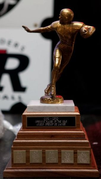 Quebec Junior Football League Trophy